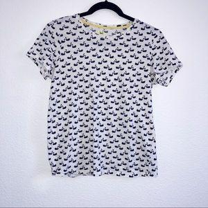 BODEN light weight swan T shirt